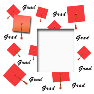 'achievement','assorted','board','cap','ceremony','class','costume','display','frame','gold','graduation','hat','head','mortar','page','photo','red','school','scrapbook','tassel'