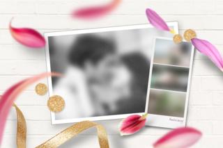 'valentine','scrapbook','anniversary','flower','petal'